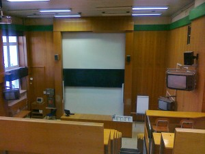 Učebna 1.49 před modernizací