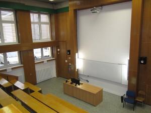 Stav učebny 1.49 po modernizaci technického vybavení